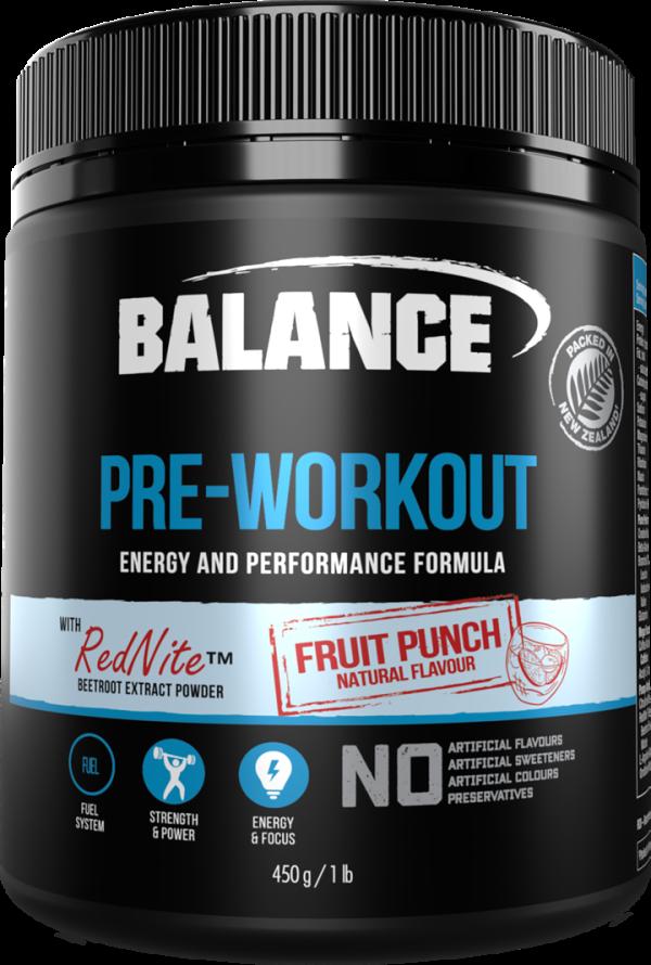 Balance Pre-Workout (450g)