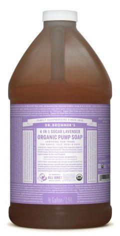Lavender Organic Pump Soap 1.89L