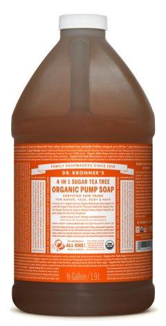 Tea Tree Organic Pump Soap 1.89L