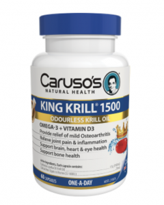 Caruso's King Krill 1500 (60 Capsules)