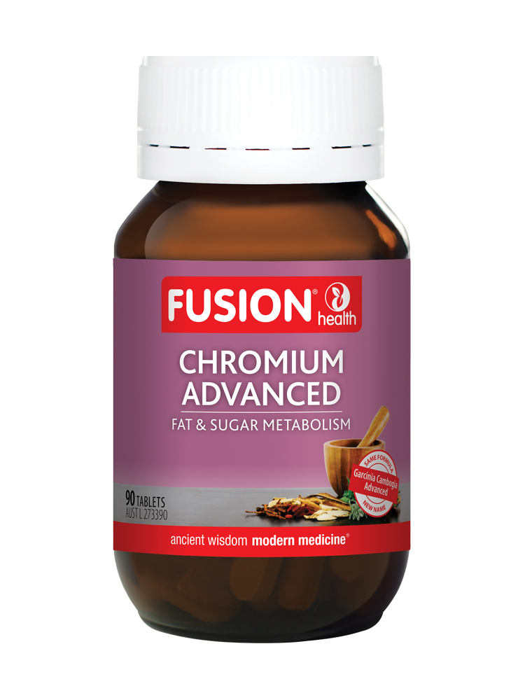 Fusion Chromium Advanced (30, 60, 90 Tablets)