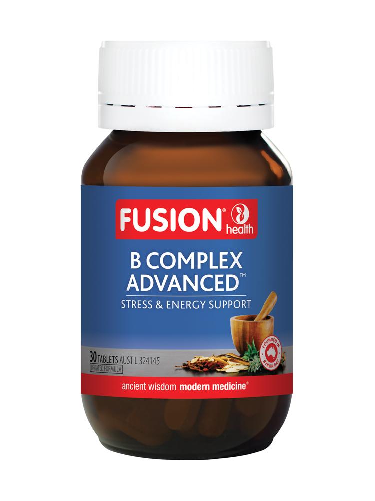 Fusion B Complex Advanced (30, 60 Tablets)