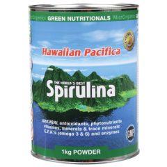Green Nutritionals Hawaiian Pacifica Spirulina Powder (1kg)