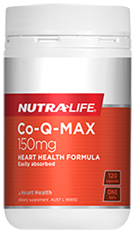 Nutra-life Co-Q-Max 150mg (120 Capsules)