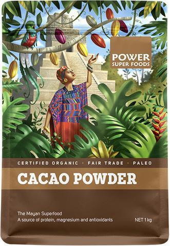 Power Super Foods Cacao Powder (1kg)