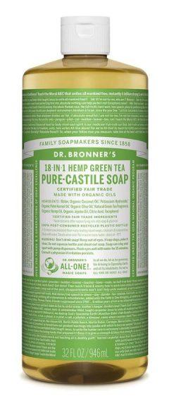 Green Tea Pure Castile Liquid Soap 946mL