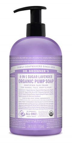 Lavender Organic Pump Soap 710mL
