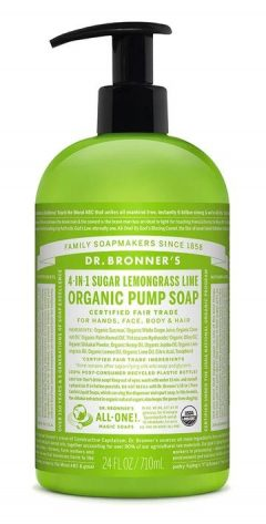 Lemongrass Lime Organic Pump Soap 710mL